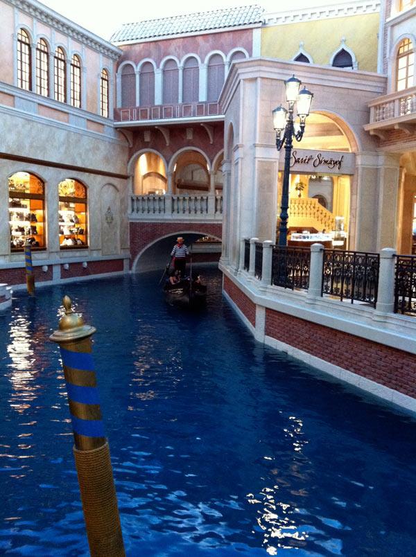 Canales en el Venettian