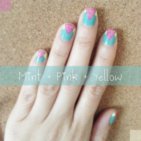 Spring nail art by me