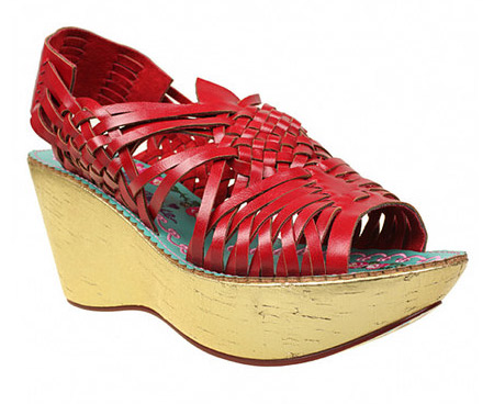 Zapatos tipo huarache de araña