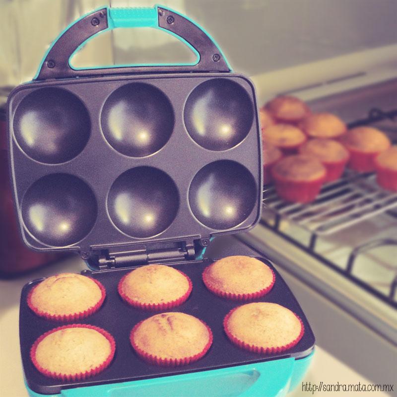 Cupcakes horneados