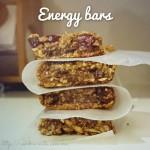 Energy bars!