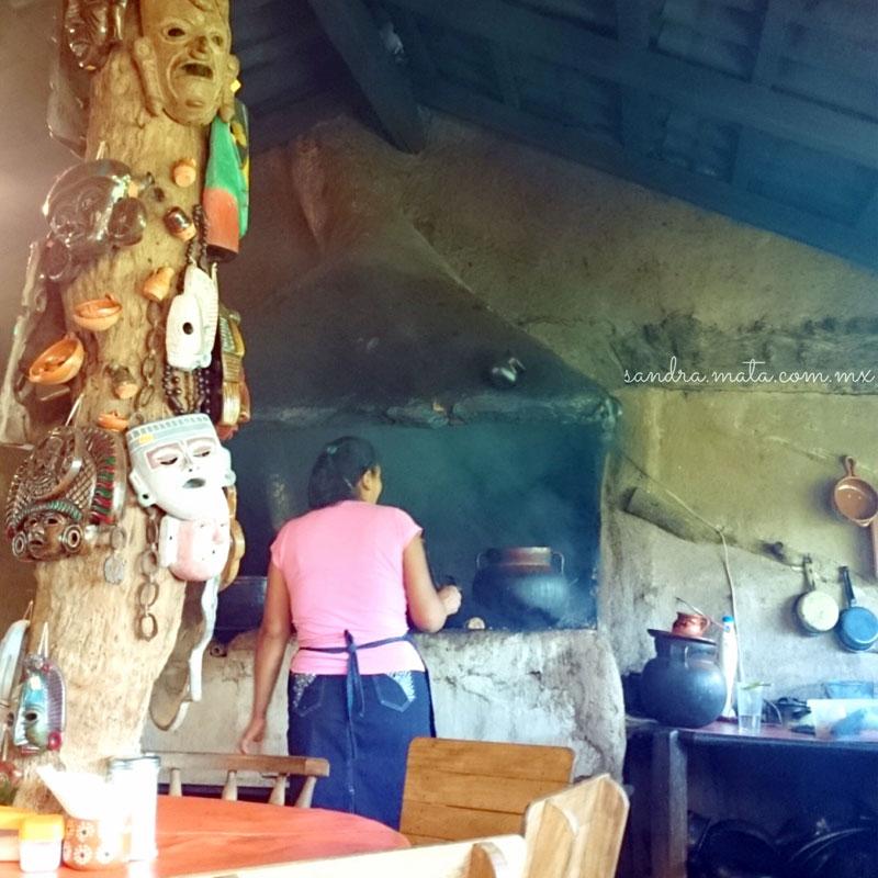 Cocina rural: Fogón