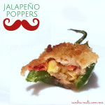 ¡Jalapeños rellenos! / Jalapeño poppers!