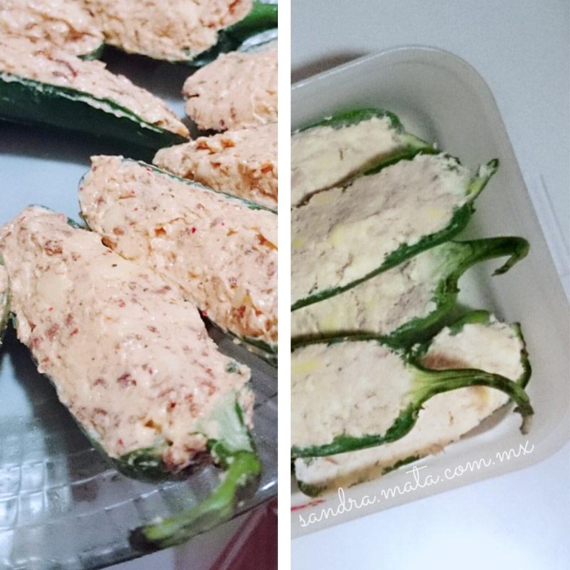 Jalapeño poppers receta / recipe