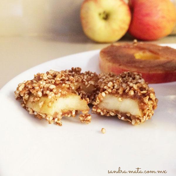 Donitas de manzana / Apple donuts